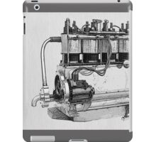 Antique Engine iPad Case/Skin