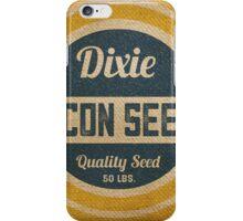 Bacon Seed Vintage Burlap Sack iPhone Case/Skin