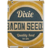 Bacon Seed Vintage Burlap Sack iPad Case/Skin