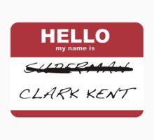 Superman is Clark Kent by bbaileykmg
