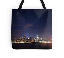 Manattan Skyline Tote Bag