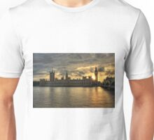 Sunset in London England Unisex T-Shirt