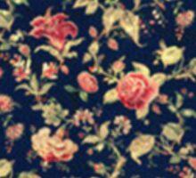 Floral Pittie Sticker