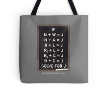 Westerosi Math 101 Tote Bag