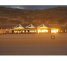 BAR ON THE BEACH Photographic Print
