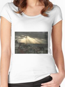 Istanbul a moment in time Women's Fitted Scoop T-Shirt