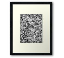 Heliotroped with Tattoo and Guest Poet Framed Print