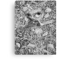 Heliotroped with Tattoo and Guest Poet Canvas Print