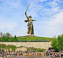 Mamayev Hill, Volgograd by Sofia Solomennikova