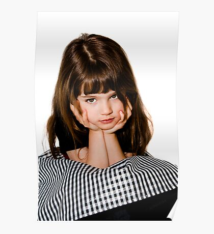 A grumpy princess! Poster