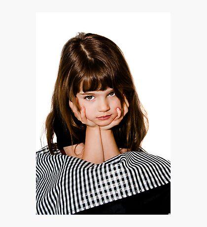 A grumpy princess! Photographic Print