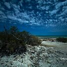 Clouds at Shark Bay, WA by Malcolm Katon