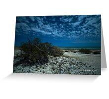 Clouds at Shark Bay, WA Greeting Card