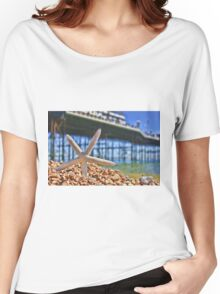 Summer in Brighton, England Women's Relaxed Fit T-Shirt