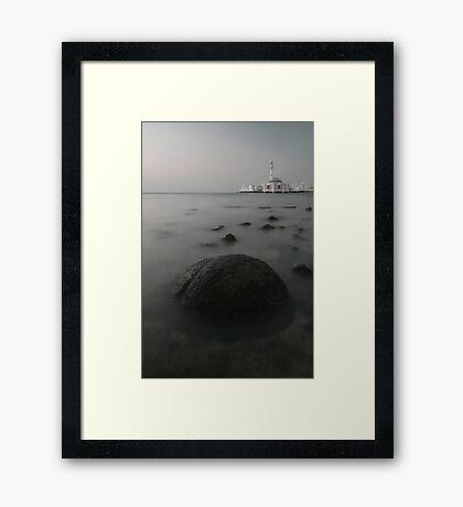 Echoes Framed Print