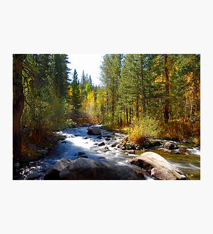 Bishop Creek Photographic Print