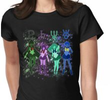 The Outer Senshi  Womens Fitted T-Shirt