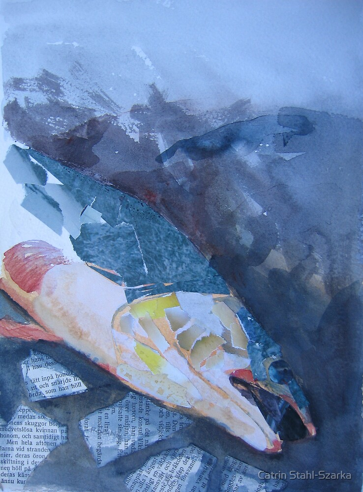 A red fish by Catrin Stahl-Szarka