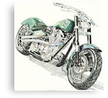 Green Meenie Canvas Print
