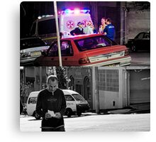 Like Night and Day - Ambo - 2009 Portfolio Project Canvas Print