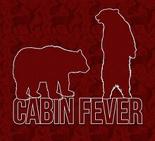 Cabin Fever Bear in the Woods by Doreen Erhardt