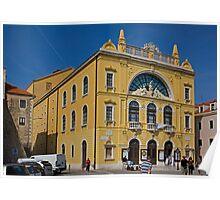 Croatian National Theatre Poster
