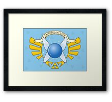 Navi, the Faithful Helper Framed Print
