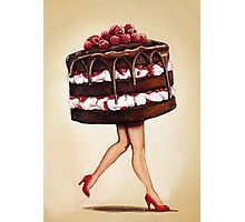 Cake Walk Photographic Print