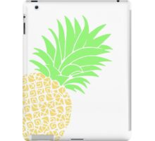 Bright Pineapple Pineapples Traditional Pastel Yellow Green  iPad Case/Skin