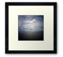 Cook Island Framed Print