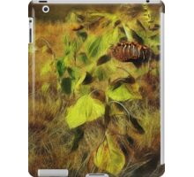 Time is the Enemy (Art & Poetry) iPad Case/Skin