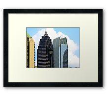 """Atlanta"" Framed Print"