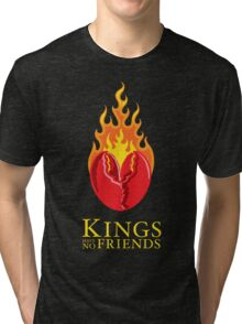 Fiery Lobster Claw Heart Sigil Tri-blend T-Shirt