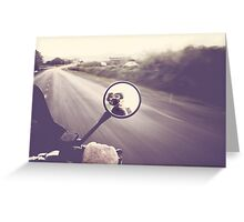 107km/hr 4000rpm Greeting Card
