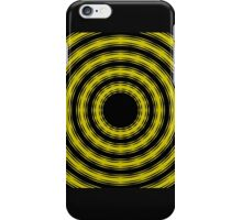In Circles (Yellow Version) iPhone Case/Skin