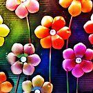 Tin Flowers by Scott Mitchell