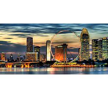 Singapore Cityscape Photographic Print