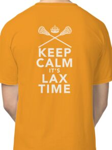 KEEP CALM - LAX TIME Classic T-Shirt