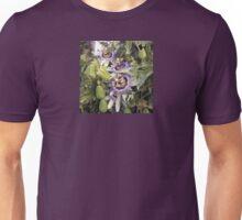 Passionfruit Flowers Unisex T-Shirt