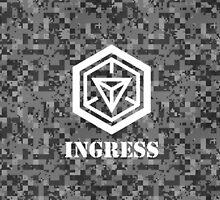 INGRESS Digital Camouflage - Ingress by trebory6