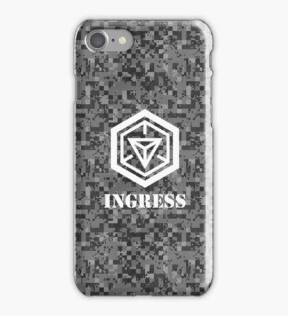 INGRESS Digital Camouflage - Ingress iPhone Case/Skin