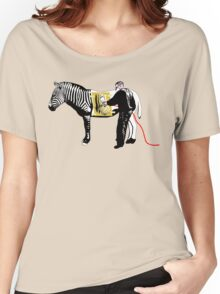Generic Engineering (Custom Zebra) Women's Relaxed Fit T-Shirt