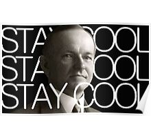 Stay Cool with Coolidge! Poster