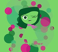 Inside Out - Disgust by ShoeboxMemories