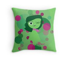 Inside Out - Disgust Throw Pillow