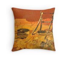 OLD MINESHAFT, CUE, W.A. Throw Pillow