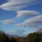 UFO CLOUDS by Ginny York