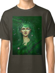 Green Nature Fairy Classic T-Shirt