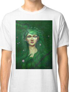 Green Nature Fairy Classic T-Shirt
