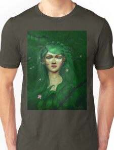 Green Nature Fairy Unisex T-Shirt